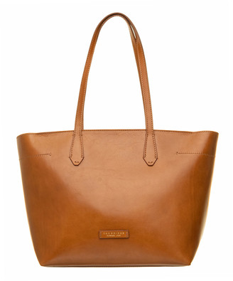 The Bridge Cognac Tote Bag