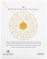 Dogeared New Beginnings Mandala Necklace, 22""