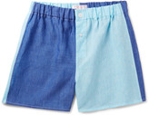 Emma Willis - Two-tone Linen Boxer Shorts
