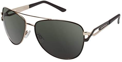 Rocawear Men's R1207 Gld Non-Polarized Iridium Aviator Sunglasses