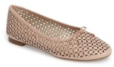 Louise et Cie Women's Congo Perforated Flat