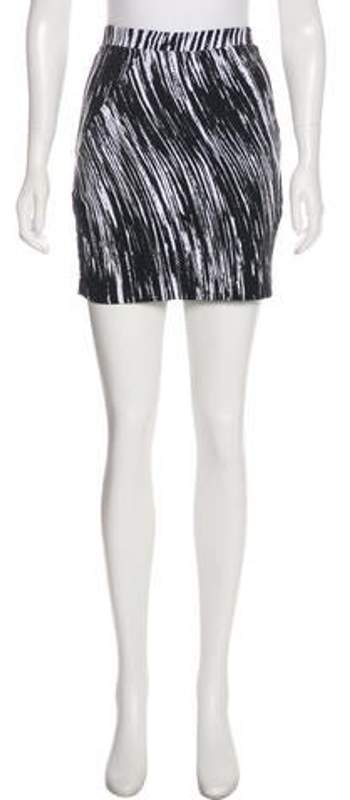 e7c144ff Jacquard Mini Skirt Black Jacquard Mini Skirt