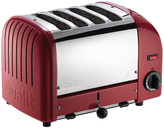 Dualit Classic Heritage Toaster - Theatre Red - 4 Slot