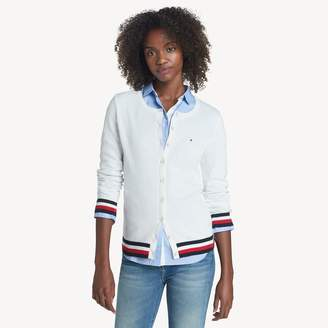 Tommy Hilfiger Essential Tipped Cardigan Sweater