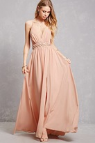 Forever 21 Chiffon O-Ring Gown