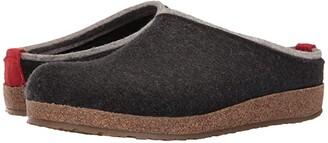 Haflinger Kris (Charcoal) Clog Shoes