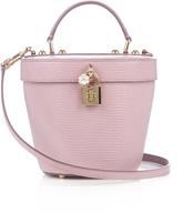 Dolce & Gabbana Dolce lizard-effect bucket bag