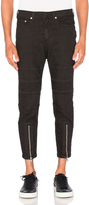 Neil Barrett Skinny Leg Biker Jeans