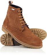 Superdry Brad Brogue Suede Boots