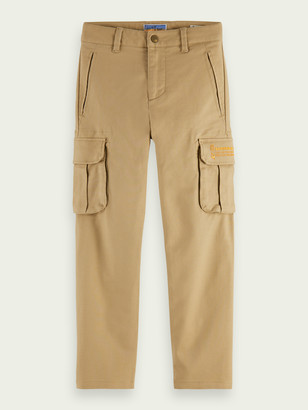 Scotch & Soda Clean cargo pants Loose tapered fit | Boys