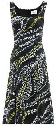 Erdem Tate Suzu Swirl Floral-print Neoprene Dress