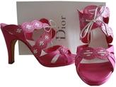 Christian Dior Pink Sandals