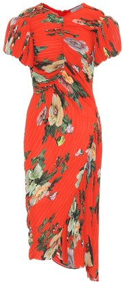 Preen by Thornton Bregazzi Meggy georgette midi dress
