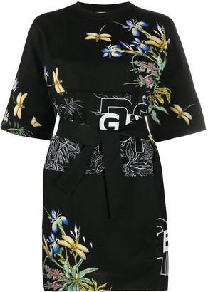 Givenchy belted T-shirt dress