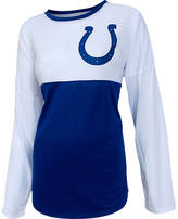 COLLEGE CONCEPTS INC Women's College Concepts Indianapolis Colts NFL Long-Sleeve Vortex T-Shirt