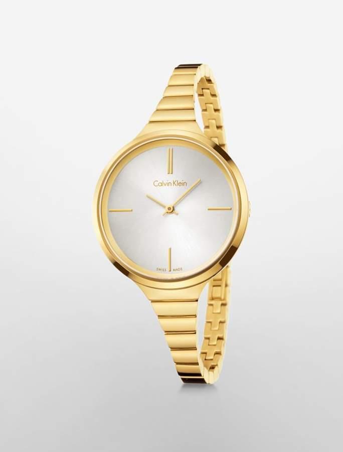 Calvin Klein lively gold watch