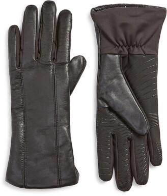 U R Leather & Knit Gloves
