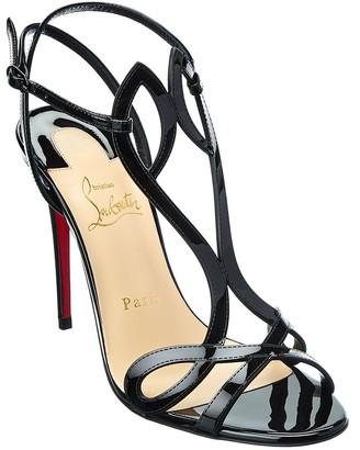 Christian Louboutin Double L 100 Patent Sandal