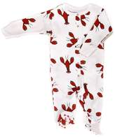 New Jammies Baby-Boys Newborn Lobsters Footie