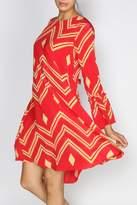 Anupamaa Red Mao Dress