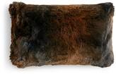 """Hudson Park Frosted Faux Fur Decorative Pillow, 12"""" x 20"""" - 100% Exclusive"""
