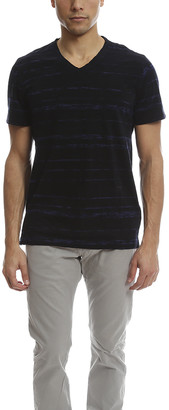Vince Slub Cotton Shadow V Neck Tee