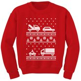 TeeStars - Xmas Children Clothing - Ugly Christmas Sweater Cars Kids Sweatshirt