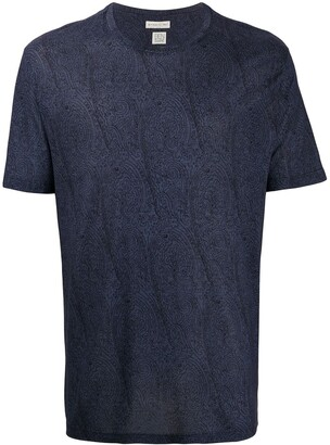Etro paisley print crewneck T-shirt