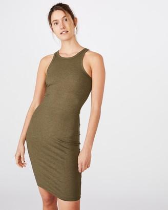 Cotton On Kirsty Racerback Body-Con Midi Dress