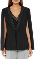 Ted Baker Maggy Ottoman-Ribbed Cape