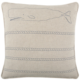 Thomas Paul Whale/Rope Pillow