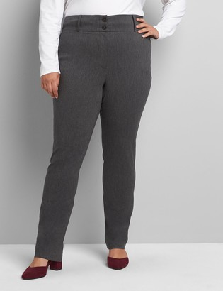 Lane Bryant Tighter Tummy Fit High-Rise Straight Allie Pant