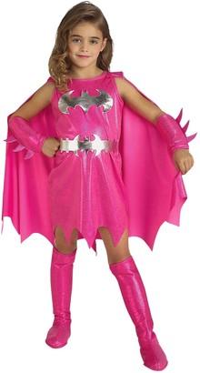 Dc Comics Girls Pink Batgirl Child Costume