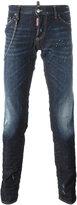 DSQUARED2 'Slim' chain trim jeans - men - Cotton/Spandex/Elastane - 46