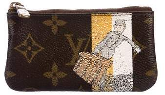 Louis Vuitton Monogram Groom Key Pouch