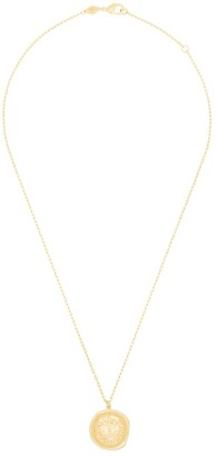 Anni Lu 18kt gold plated brass My Anchor pendant necklace