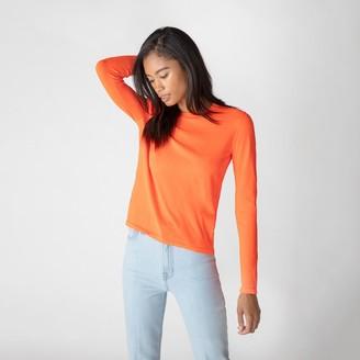 J Brand Josephine Long Sleeve Crew Neck Sweater