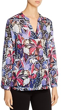 Tommy Bahama Printed V-Neck Top