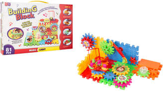 Yuka Keda Toys 81Pc Gear Building Blocks Toy Set