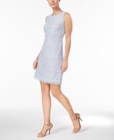 Jessica Howard Petite Medallion Lace Sheath Dress