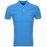 Psycho Bunny Classic Polo T Shirt Blue