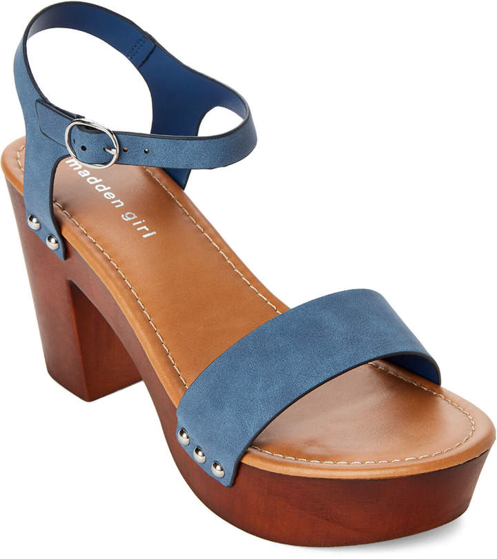 Girl Women's Shopstyle Sandals Madden Platform 34LSAcqRj5