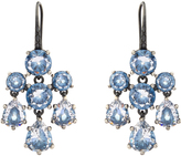 Bottega Veneta Cubic-zirconia and silver chandelier earrings
