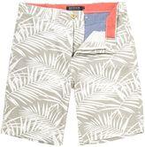 Howick Deltona Fauna Print Shorts