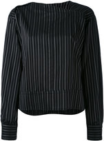 Isabel Marant Stanford striped top - women - Silk/Cupro - 36