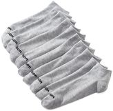 Wilson Men's 10-pack Flat-Knit No-Show Socks