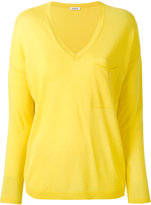 P.A.R.O.S.H. V-neck sweater - women - Cotton/Viscose - XS