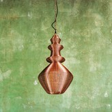 Graham and Green Pindale Copper Wire Light