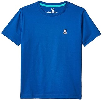 Psycho Bunny Kids Classic Crew Neck Tee (Toddler/Little Kids/Big Kids) (Prussian) Boy's T Shirt