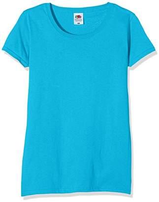 Fruit of the Loom Women's Original T. T-Shirt,8 (Manufacturer Size:X-Small)